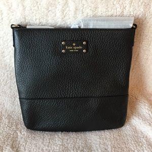 Kate Spade Bay Street Cora Cross Body Bag in Black